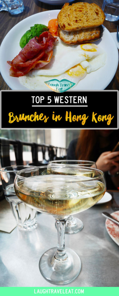 Brunch is the most important meal of the day. Hong Kong brunch scene is varied and brimming with choices, here's the top 5 western-style one