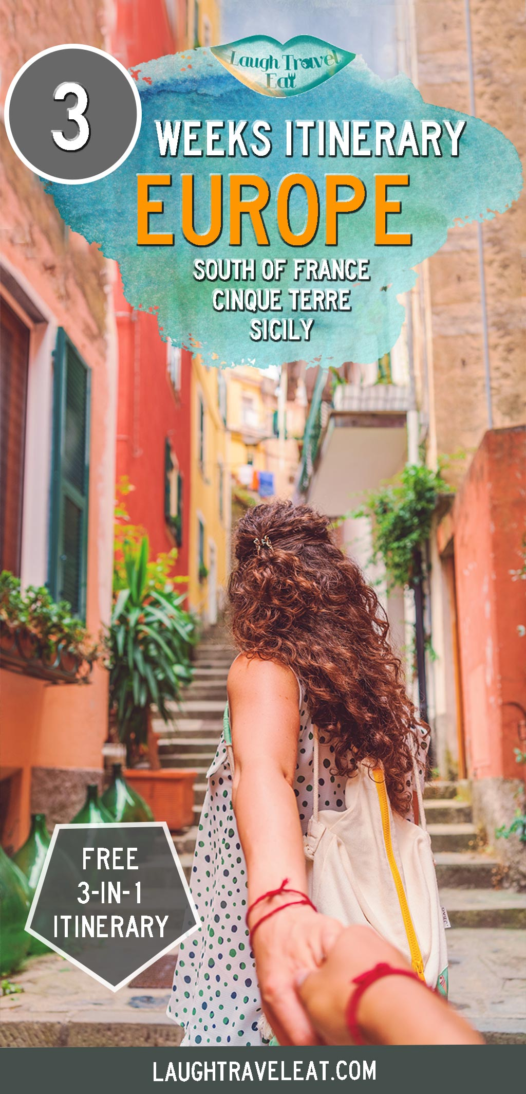 22 day Itinerary to South of France, Cinque Terre and Sicily | LTE
