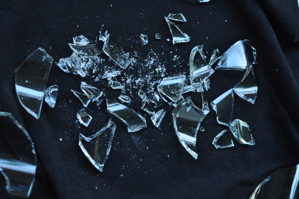 Broken Glass, Danish Tradtion for New Year   Laugh Travel Eat