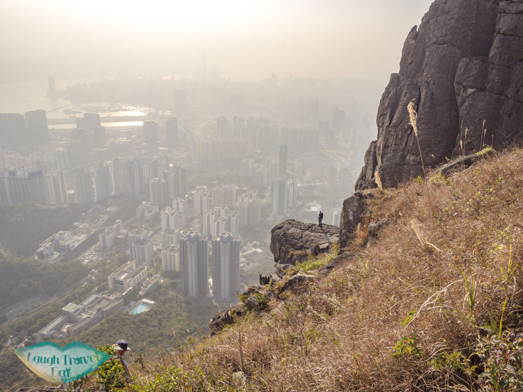 continue up from suicide cliff kowloon hong kong - laugh travel eat