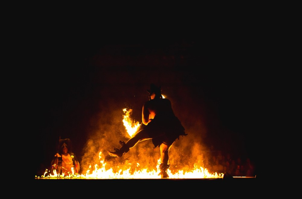 Fire Dance, Scottish new year hogmanay | Laugh Travel Eat