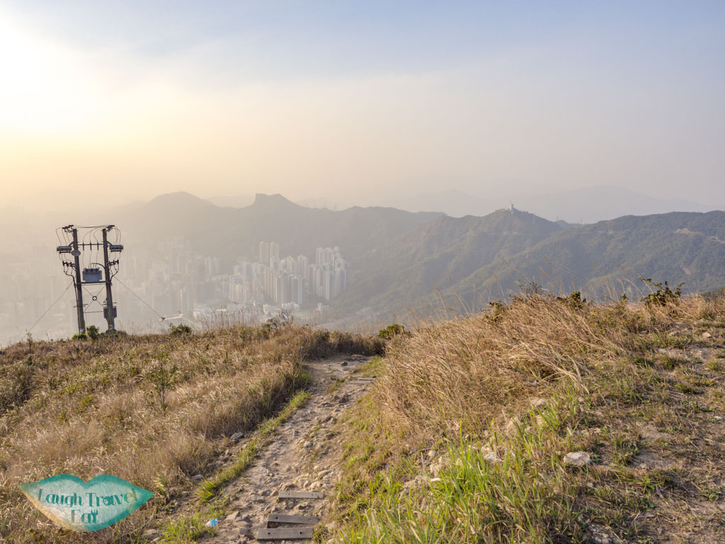 going down kowloon peak to fei ngo shan road hong kong - laugh travel eat