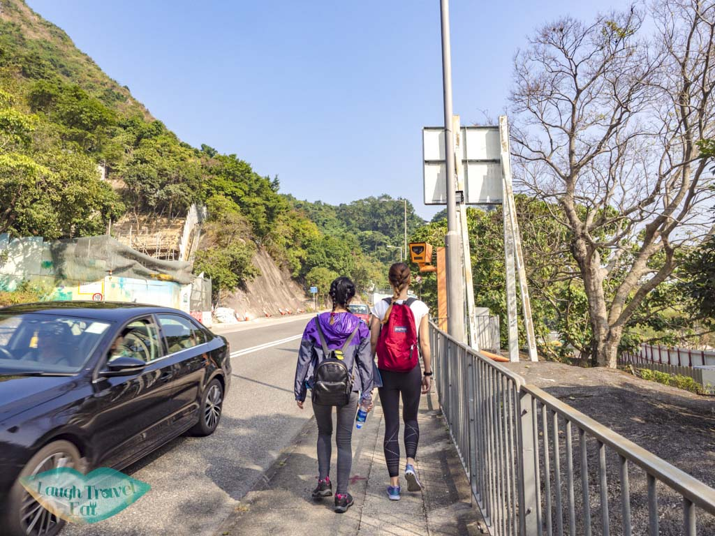 going up to trail start for suicide cliff kowloon peak via fei ngo shan road hong kong - laugh travel eat-4
