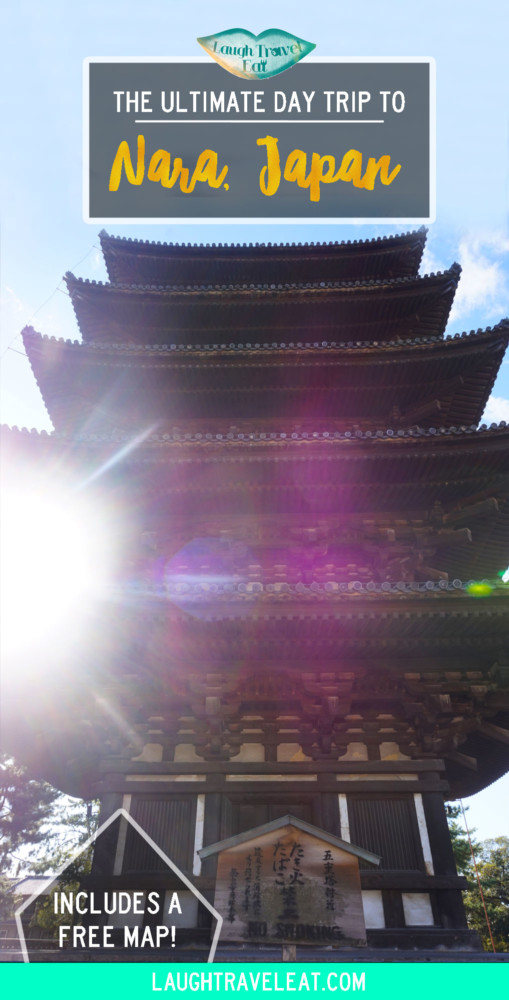 The Ultimate Day Trip to Nara, Japan | Laugh Travel Eat
