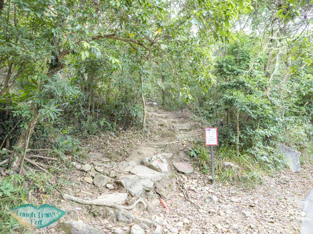 trail end kowloon peak to fei ngo shan road hong kong - laugh travel eat-2