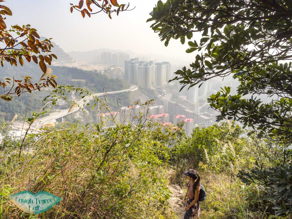 trail up from left of split suicide cliff kowloon hong kong - laugh travel eat-3