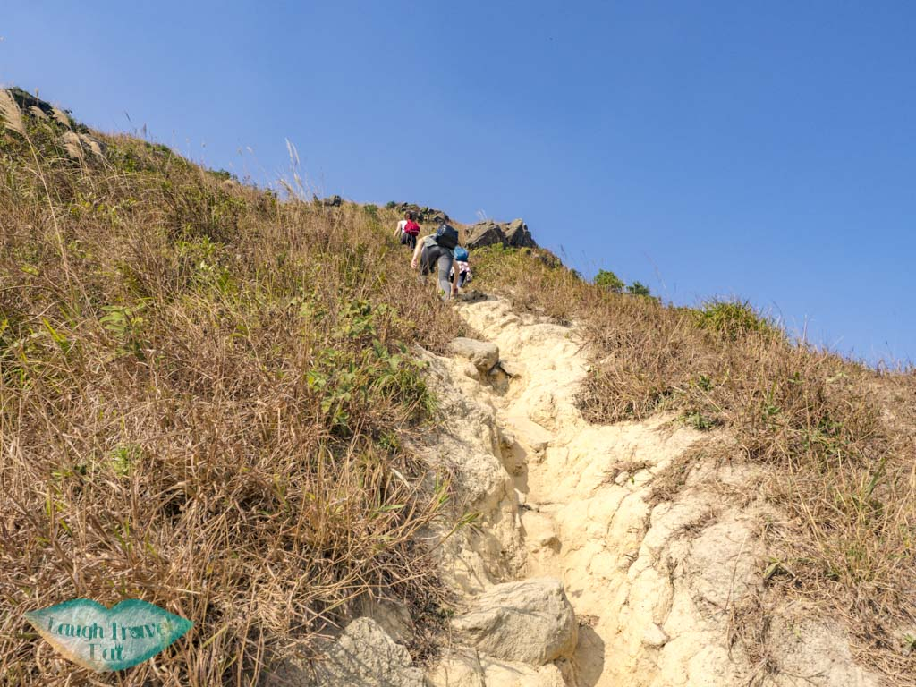 trail up from left of split suicide cliff kowloon hong kong - laugh travel eat-7