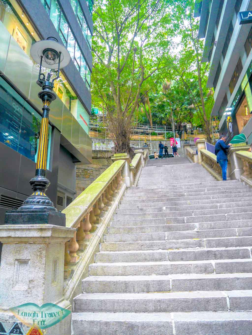 Duddells-staircase-and-gas-lamp-Central-Hong-Kong-Laugh-Travel-Eat