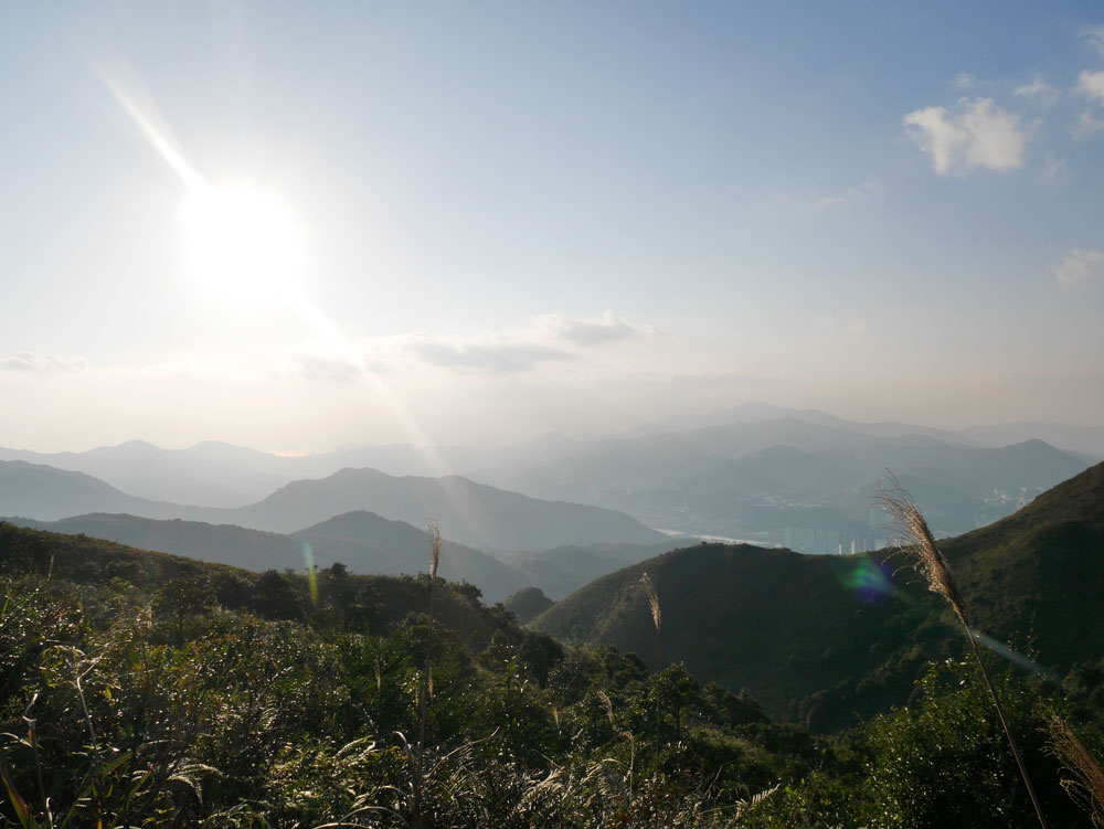MacLehose trail stage 4 view towards Shatin, Hong Kong | Laugh Travel Eat