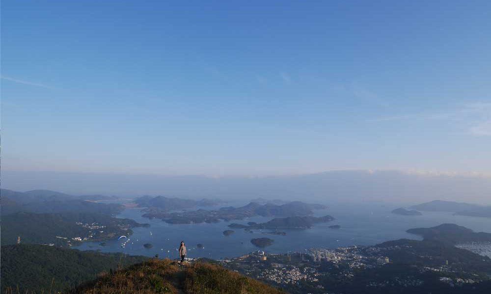 MacLehose Trail Stage 4 view point, Sai Kung, Hong Kong | Laugh Travel Eat