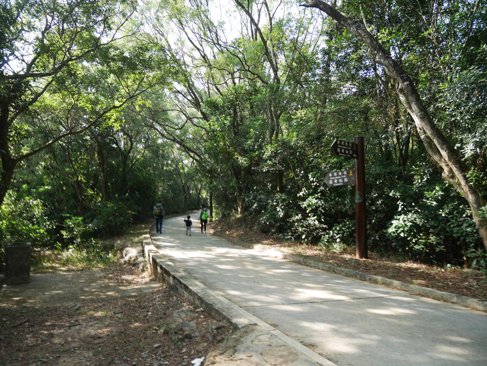 MacLehose Trail Stage 4 tarmac road, Sai kung, Hong Kong | Laugh Travel Eat
