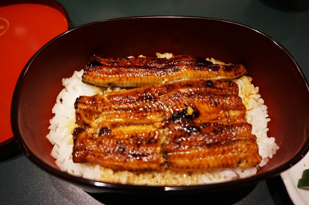 Eel rice at Unagiya Hirokawa in Arashiyama, Kyoto, Japan | Laugh Travel Eat