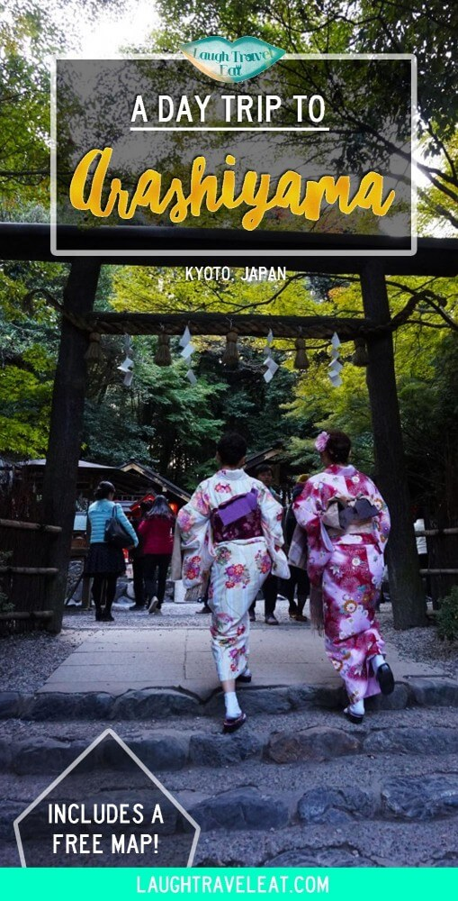 A day trip to Arashiyama from Kyoto, Japan | Laugh Travel Eat