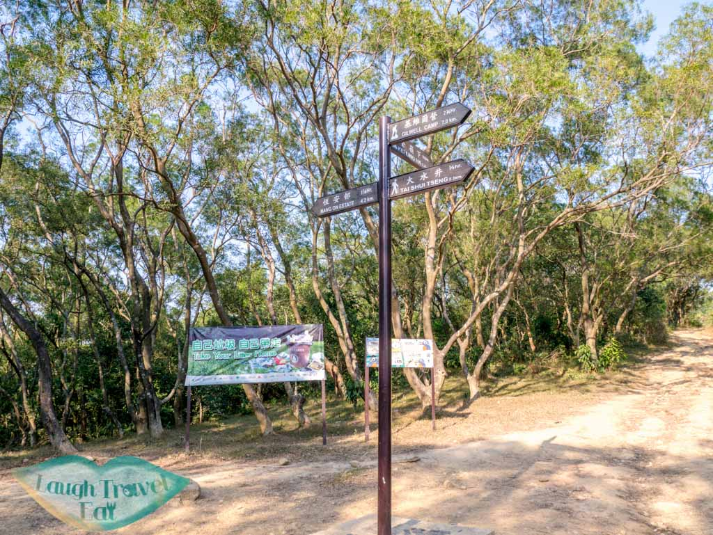 cross road maclehose stage 4 trail ma on shan hong kong- laugh travel eat