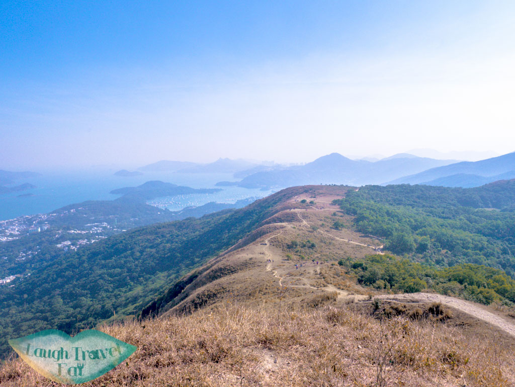 The view of Ngon Ping tai kam chun hong kong- laugh travel eat-3