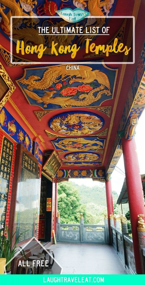 Temples are part of Hong Kong's cultural and historical tradition. They are free to enter and rich in history and religion. Here's a list: #HongKong #Temples #China