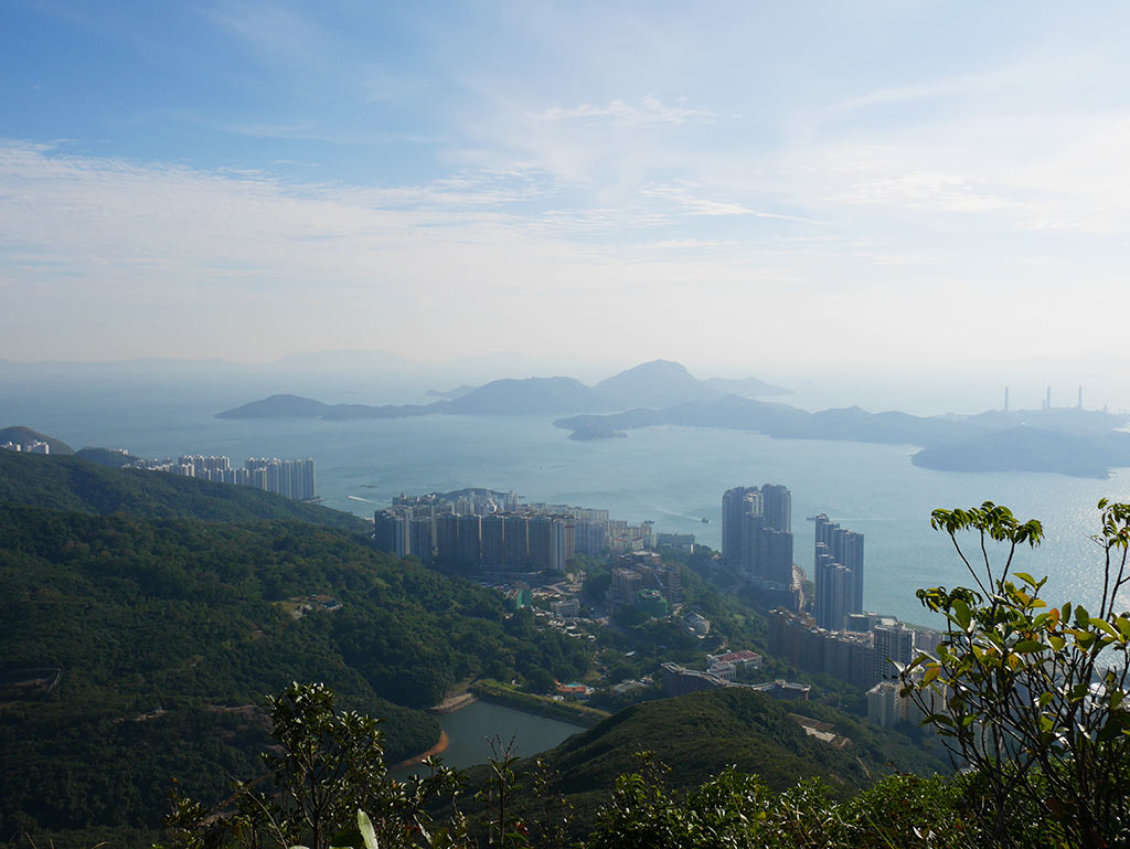 view of south west from west high hill, Hong Kong | Laugh Travel Eat