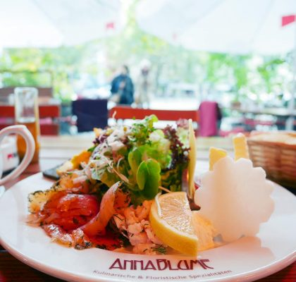 Anna Blume brunch, Berlin, germany | Laugh Travel Eat