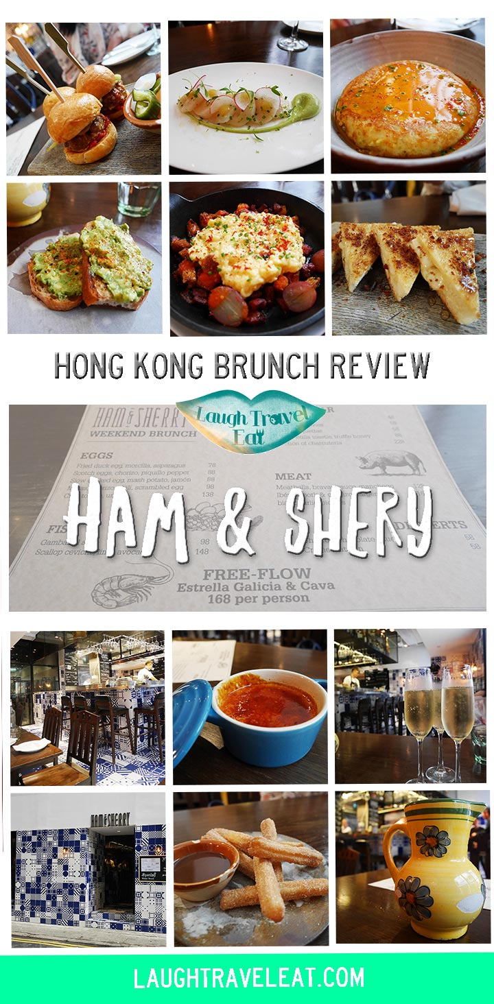 Hong Kong has a vibrant brunch scene as well, and I've recently visited the Spanish styled restaurant Ham and Sherry and absolutely loved it!