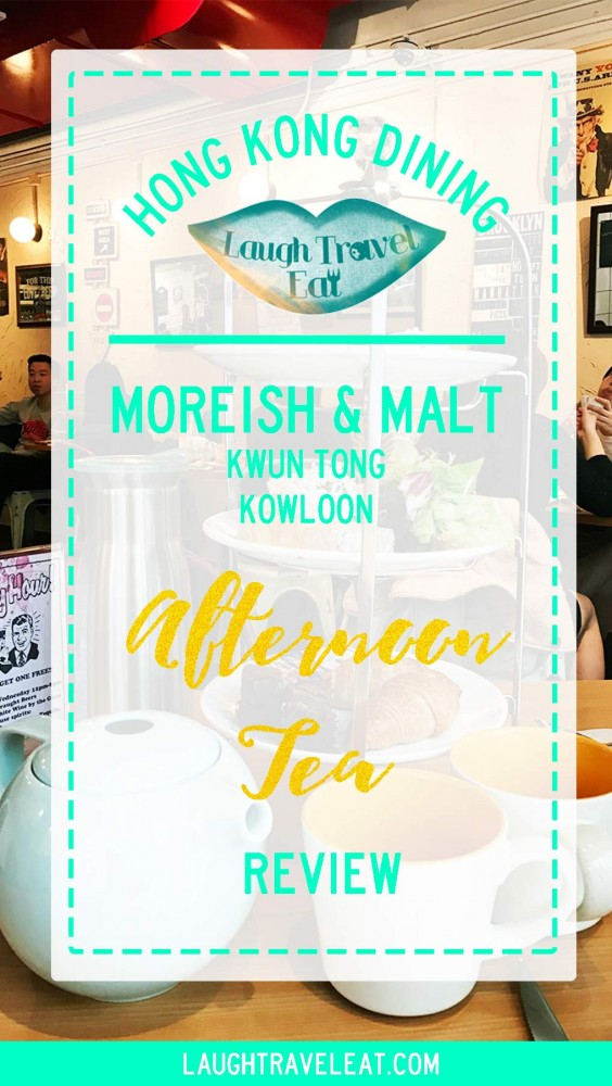 Moreish and Malt afternoon tea review, Kwun Tong, Hong Kong