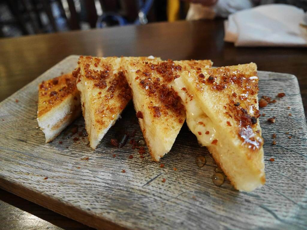 Best truffle honey toastie, Ham and Sherry, Hong Kong | Laugh Travel Eat