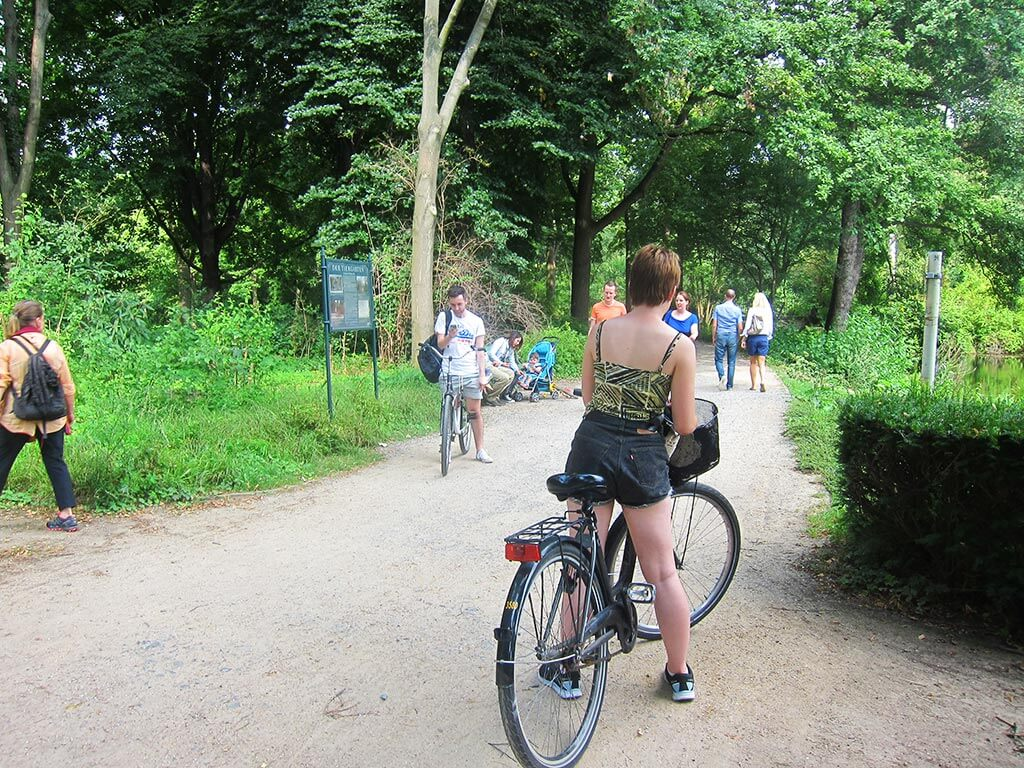 Cycling in Tiergarten, Berlin, Germany } Laugh Travel Eat