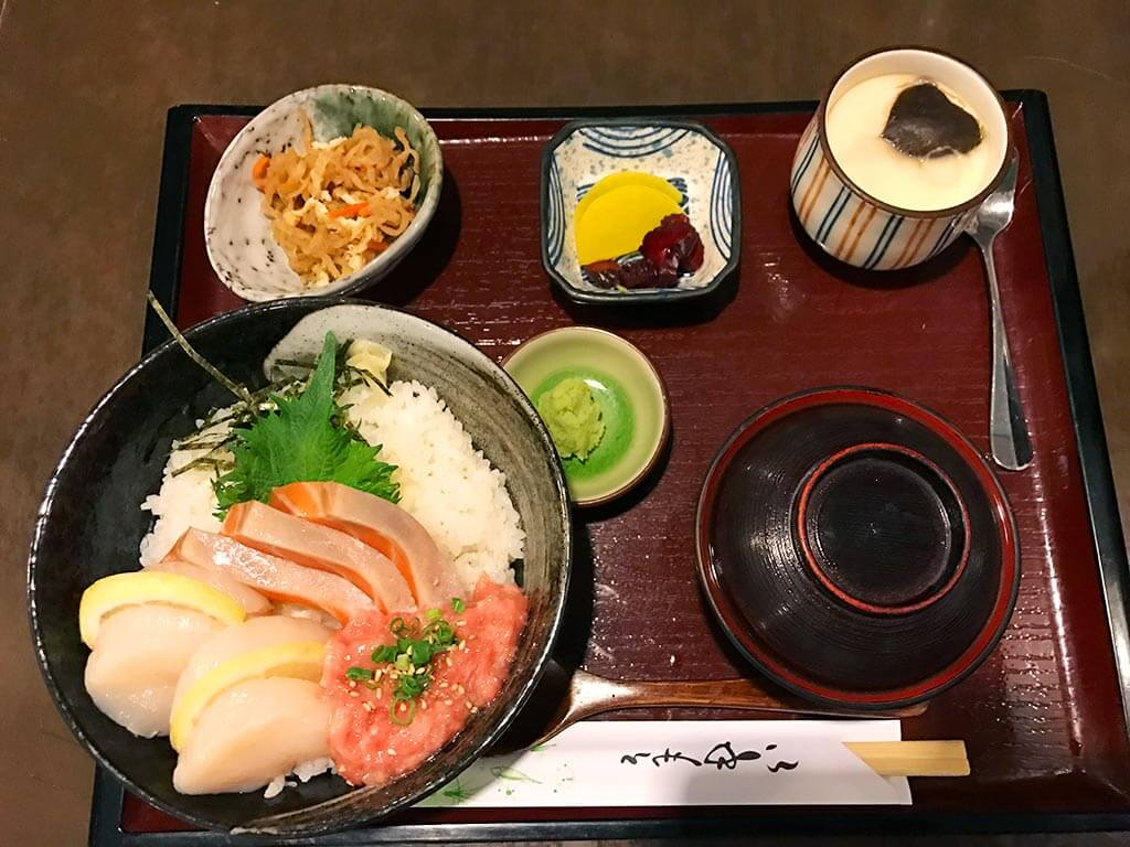 Doraya Japanese restaurant sashimi set H8, Tsim Sha Tsui, Hong Kong | Laugh Travel Eat