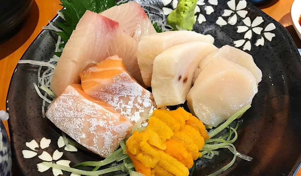 sashimi from 千之瀧, shatin wai, new territories, hong kong | Laugh Travel Eat