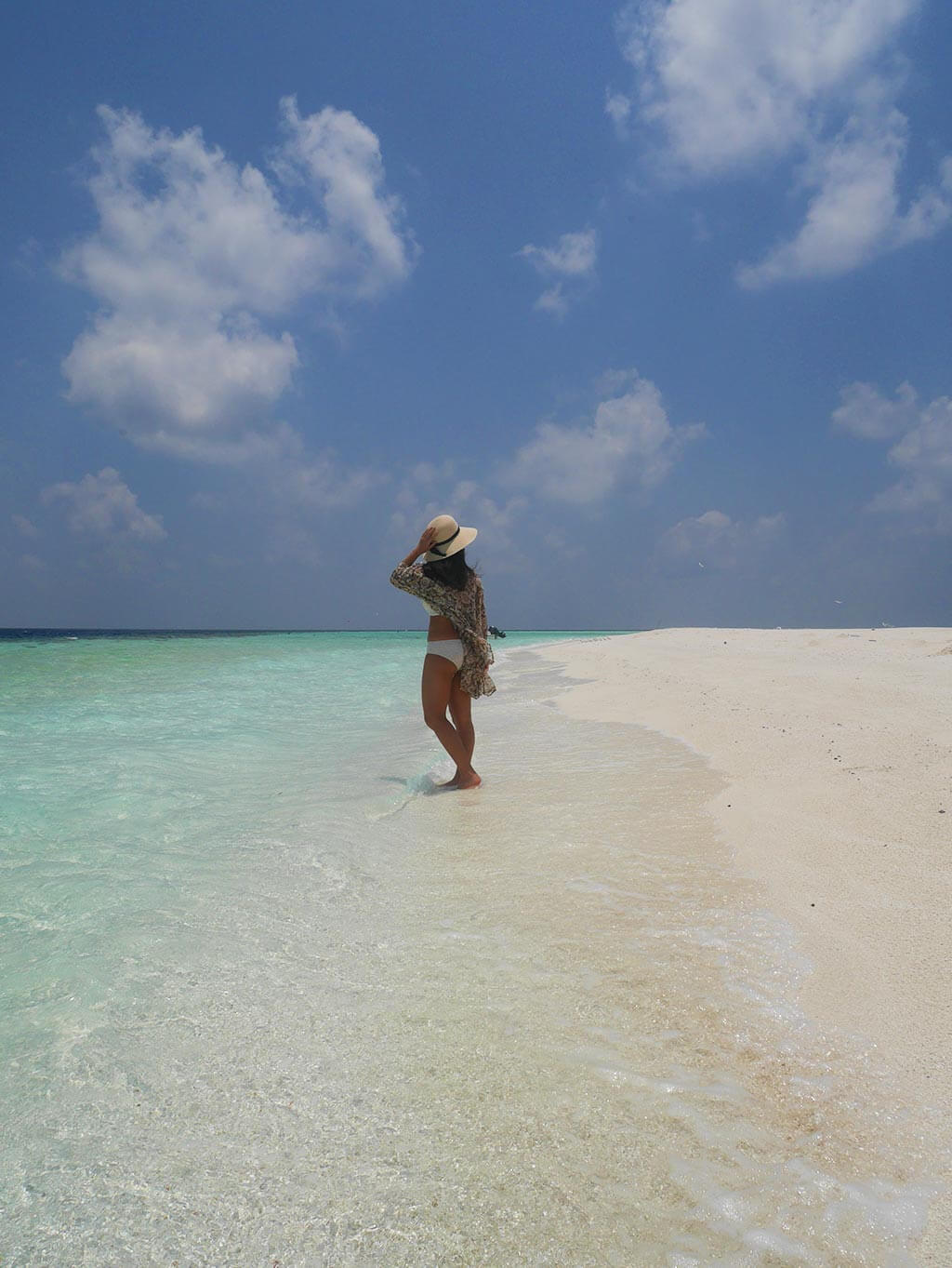 Sandbank near Gaafaru, Maldives | Laugh Travel Eat