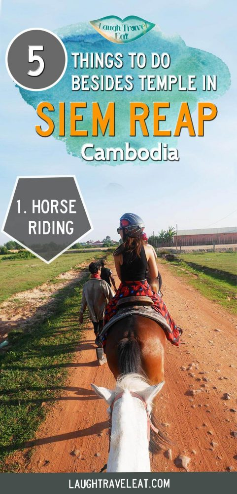 Siem Reap has plenty of things to do besides temples, but not all of them are good. Here are top 5 that I'd recommend: