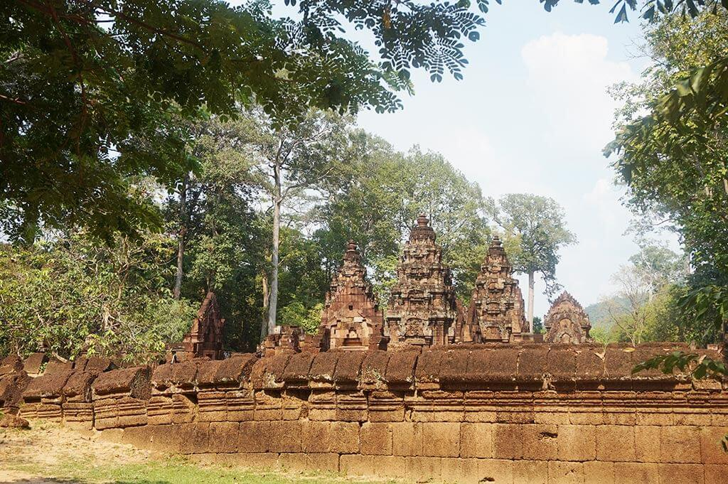 Banteay Srei, Siem Reap, Cambodia | Laugh Travel Eat