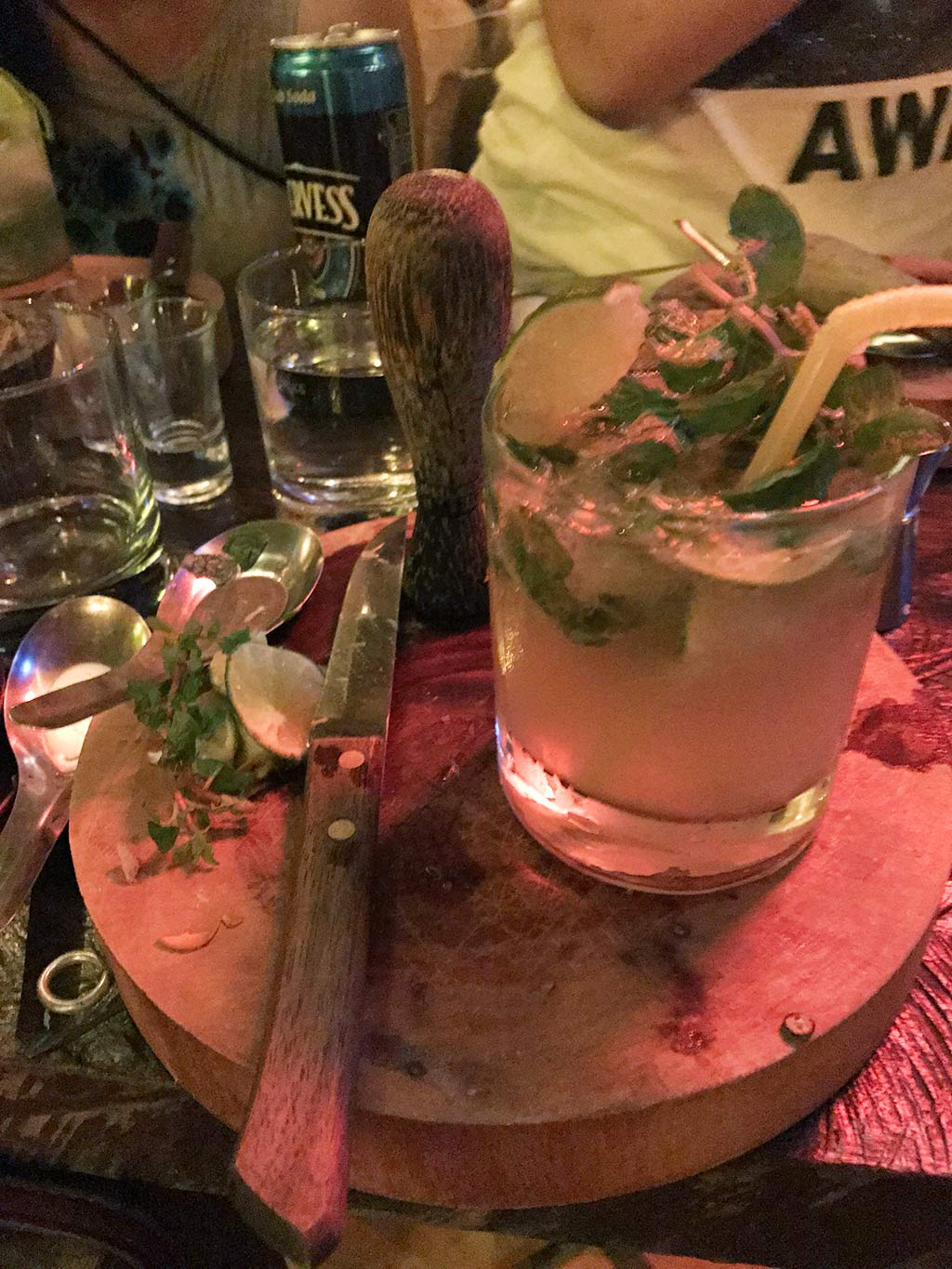 Mojito, Asana Cocktail Class, Siem Reap, Cambodia | Laugh Travel Eat