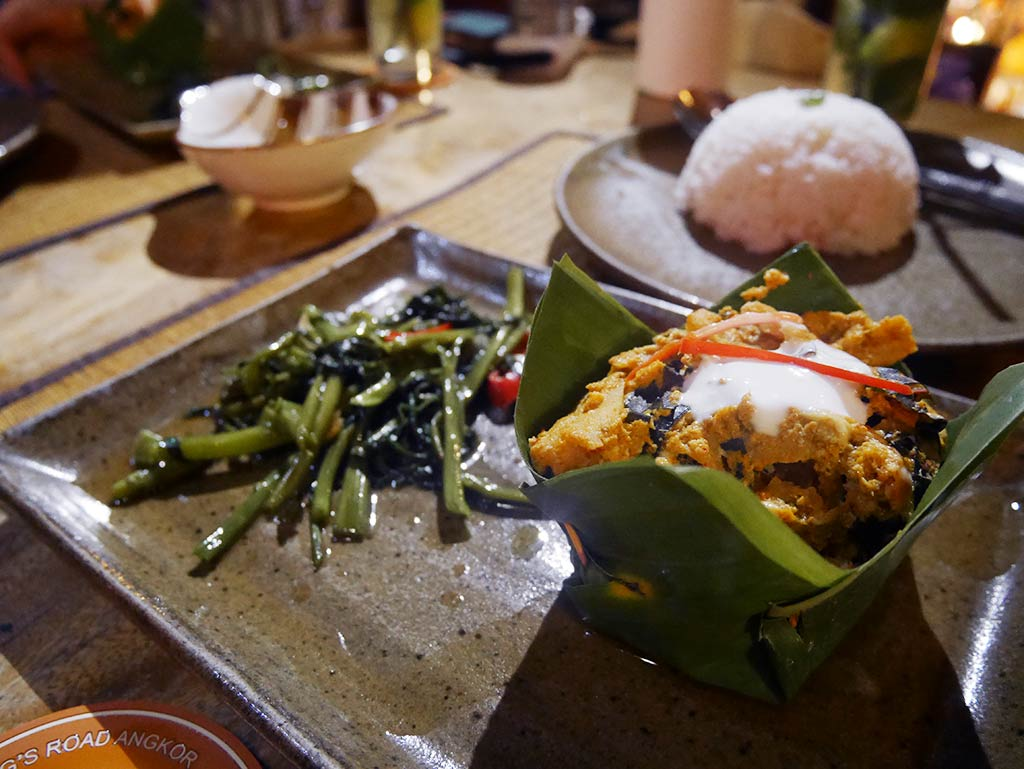 Rohatt Cafe Fish Amok, Siem REap, Cambodia | Laugh Travel Eat