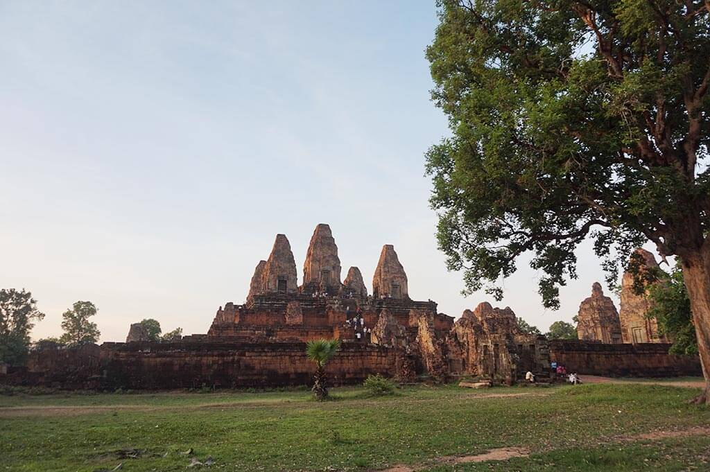 Pre Rup Temple in the evening light, Angkor Thom, Cambodia