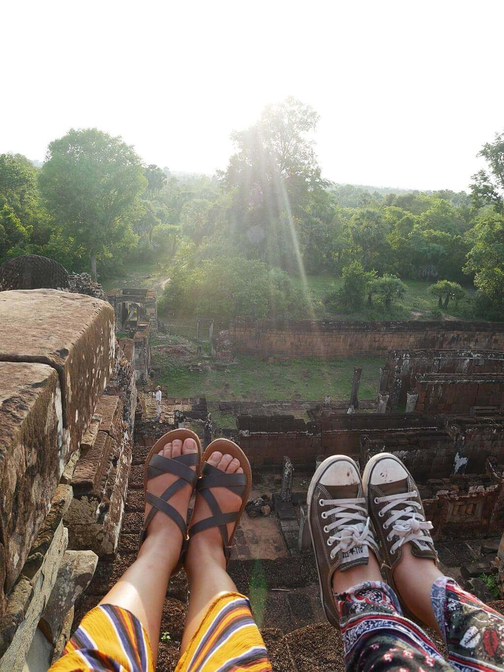 Waiting for sunset at Pre Rup Temple, Angkor Thom, Cambodia | Laugh Travel Eat