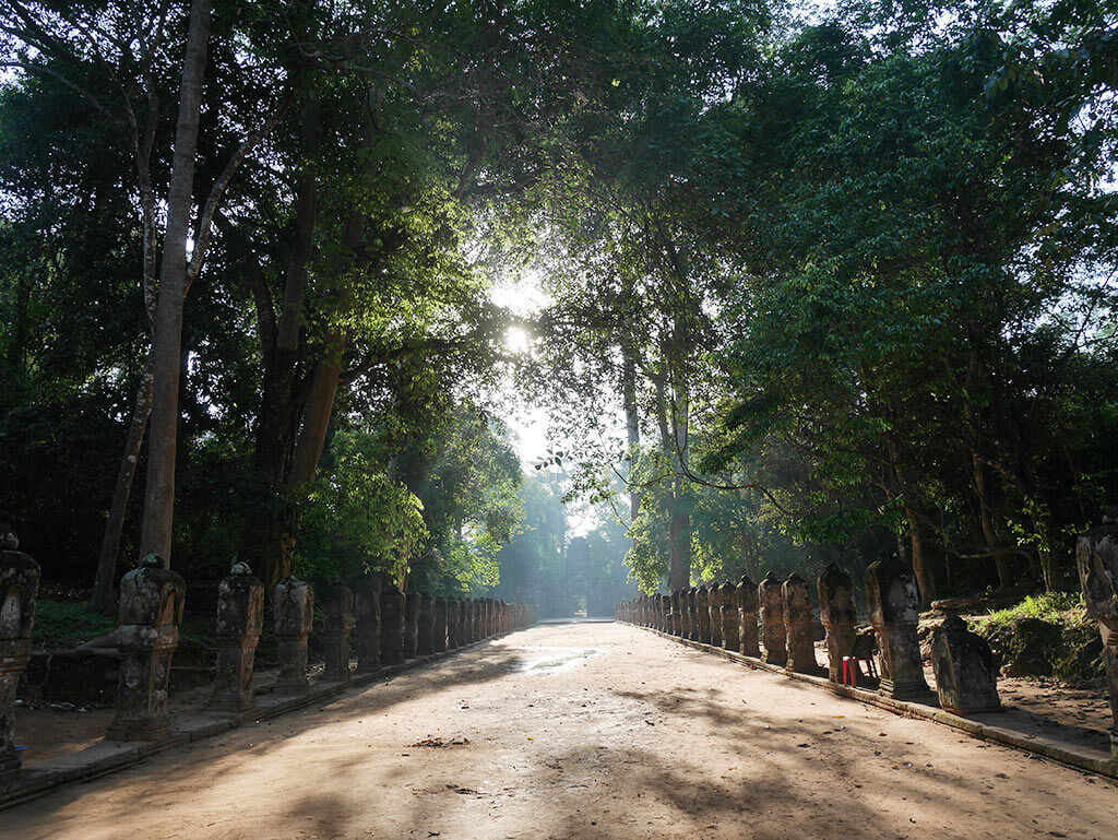 Preah Khan temple in the morning, Angkor Thom, Cambodia | Laugh Travel Eat