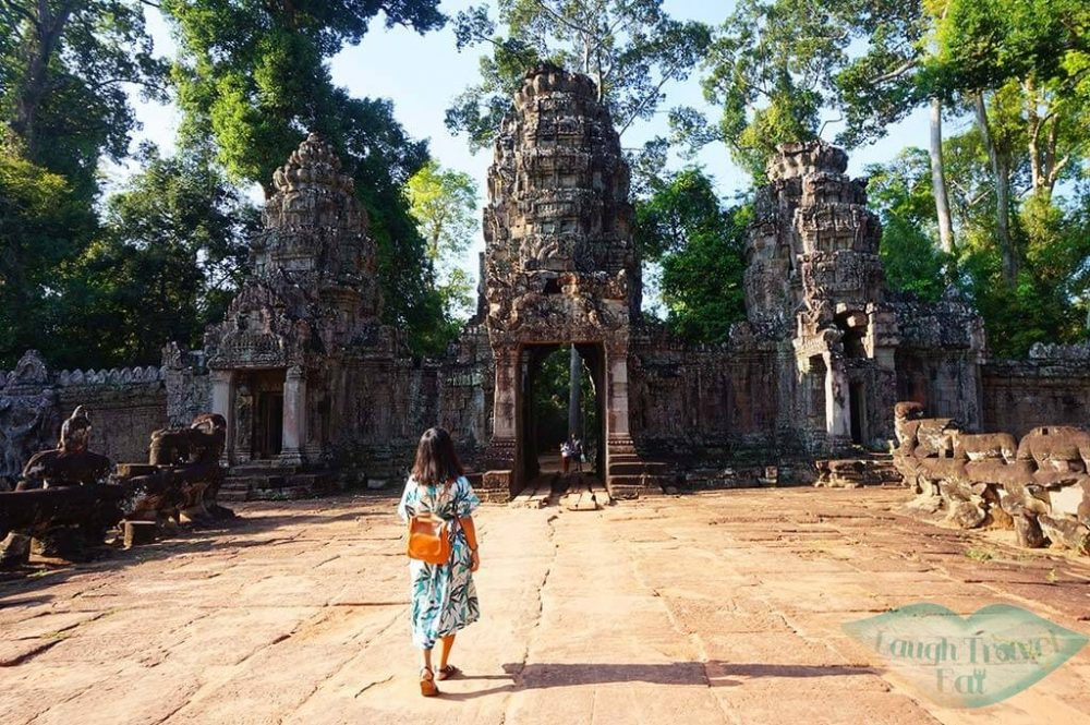 preah khan exit me walking, Angkor Thom Angkor Wat, Cambodia | Laugh Travel Eat