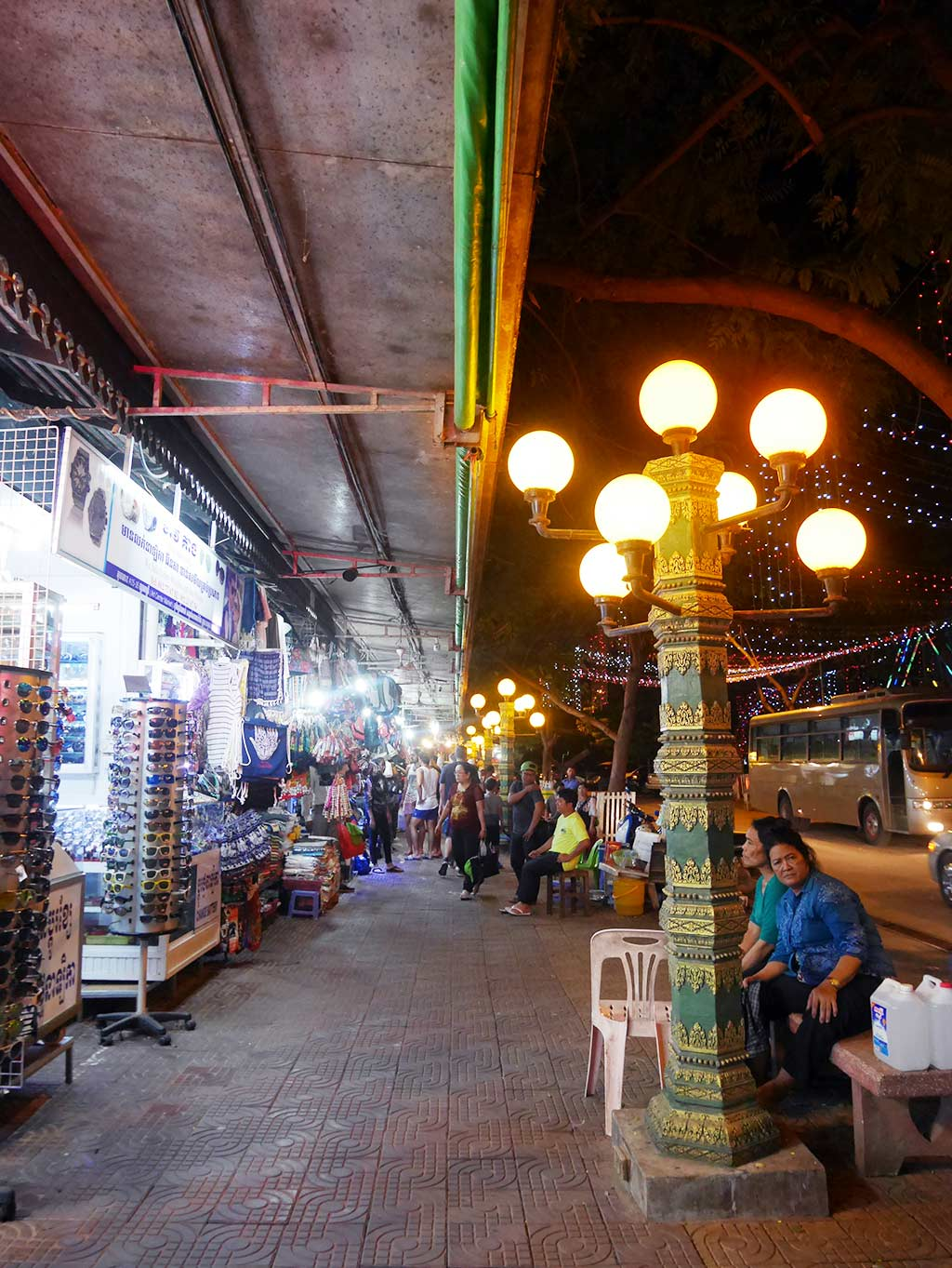Siem Reap Art Center Night Market, Cambodia | Laugh Travel Eat