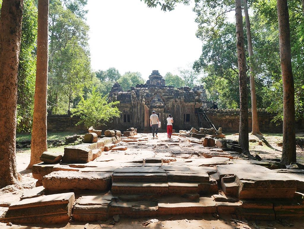 Ta Som Temple Entrance, Angkor Thom, Cambodia | Laugh Travel Eat