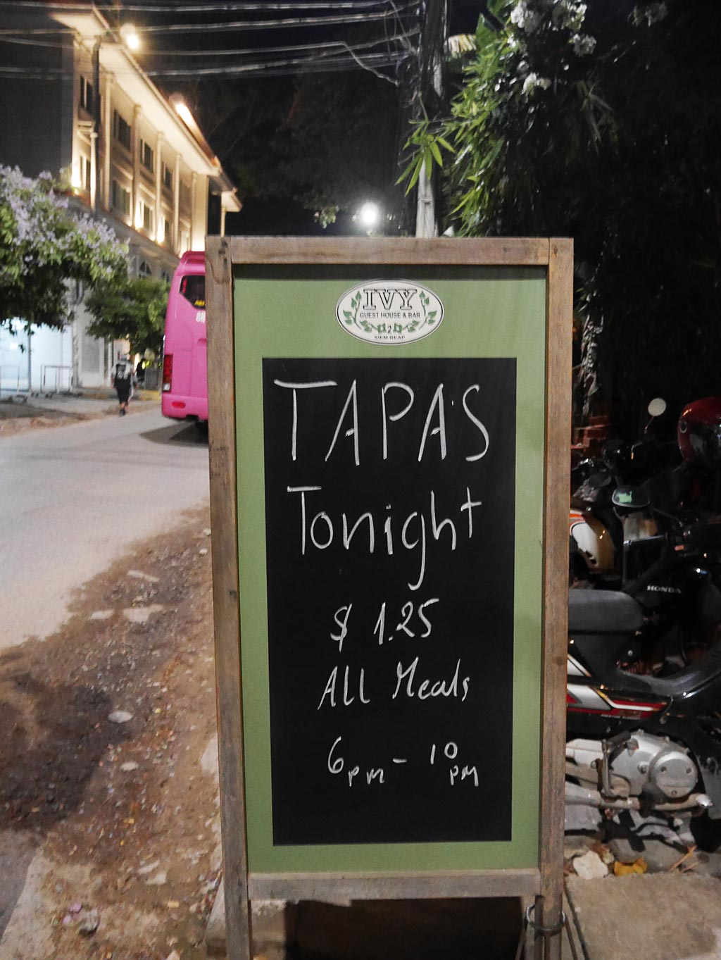 Tapas Night at Ivy's guesthouse, Siem Reap, Cambodia | Laugh Travel Eat