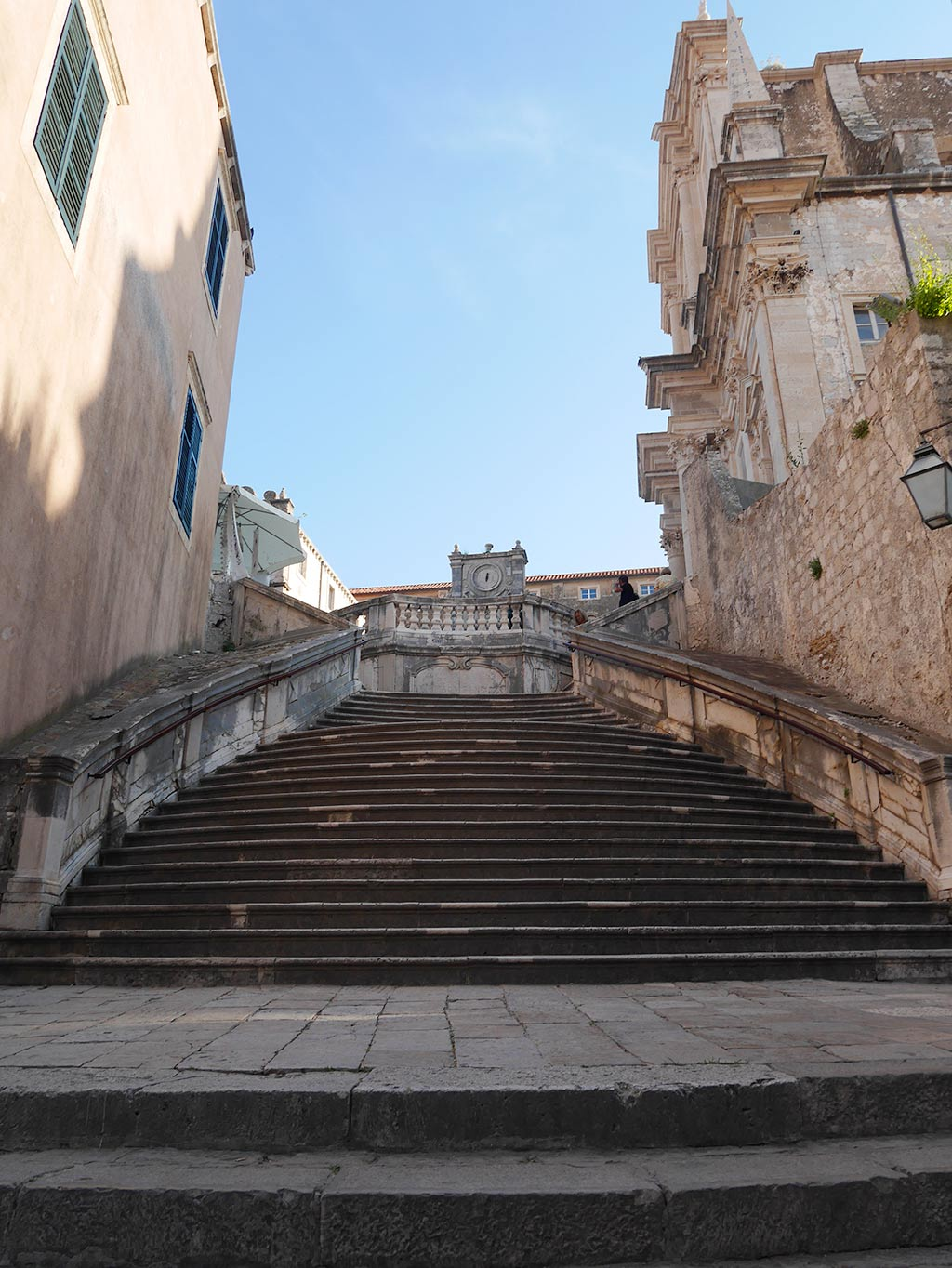 Duborvnik Spanish Steps, Croatia | Laugh Travel Eat