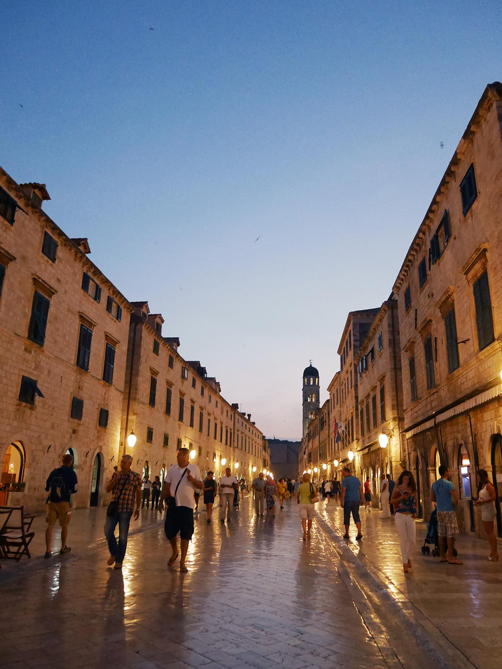 stardun dubrovnik at night, croatia | Laugh Travel Eat
