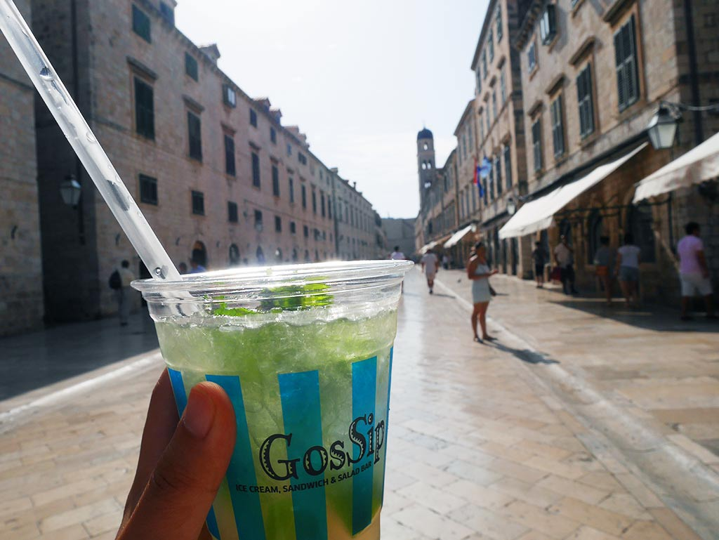 stardun with mojito dubrovnik, croatia | Laugh Travel Eat