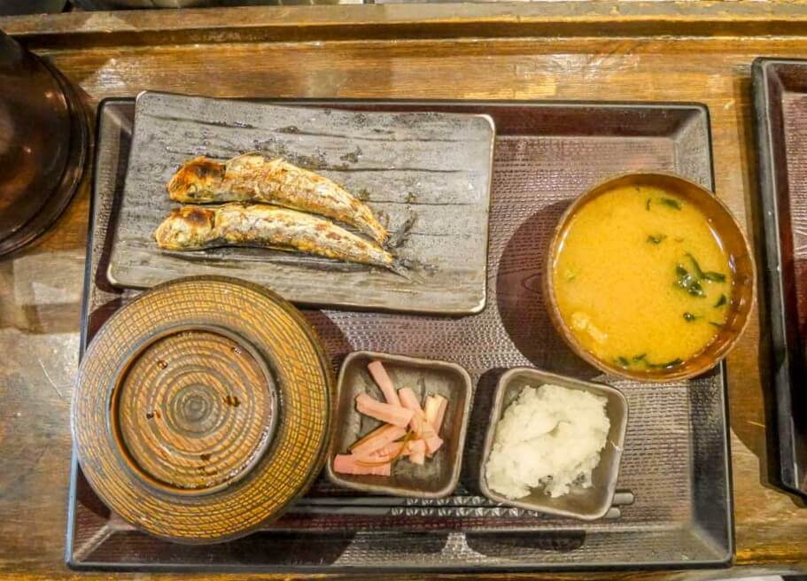SHINPACHI japanese style breakfast tokyo, Japan | Laugh Travel Eat