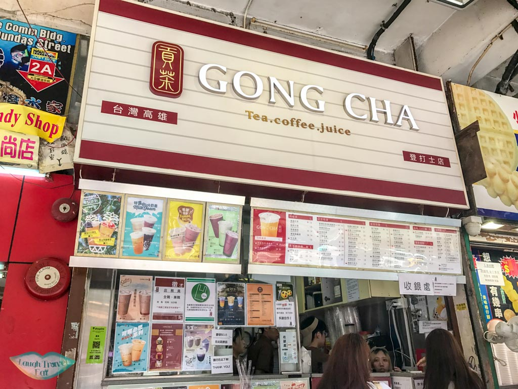 gong cha store hong kong - Laugh Travel