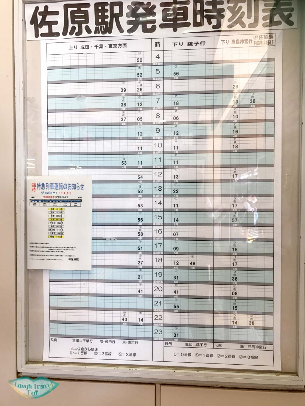 sawara station chiba train schedule japan