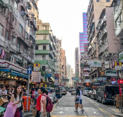Bute Street Fa Yuen Street Mongkok Hong Kong - Laugh Travel Eat
