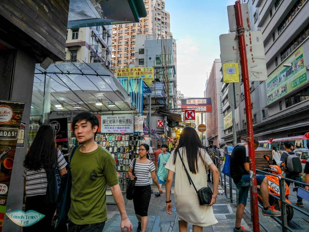 dundas street Mongkok Hong Kong - Laugh Travel Eat