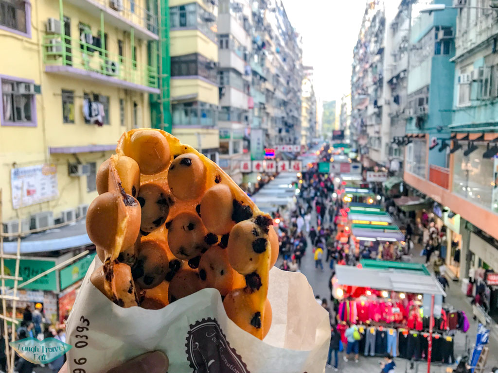 egg waffle modo argyle center mong kok hong kong - laugh travel eat