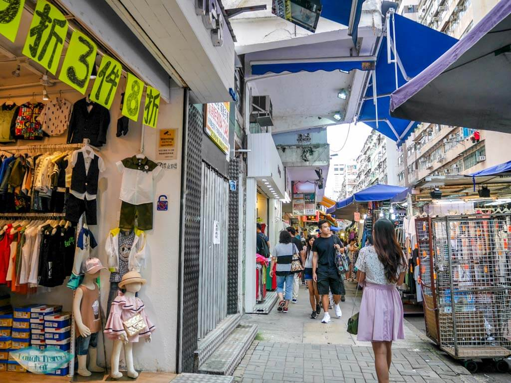 side street fa yuen street Mongkok Hong Kong - Laugh Travel Eat